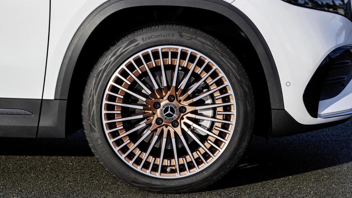 The Mercedes-Benz EQA  - Wheel Detail