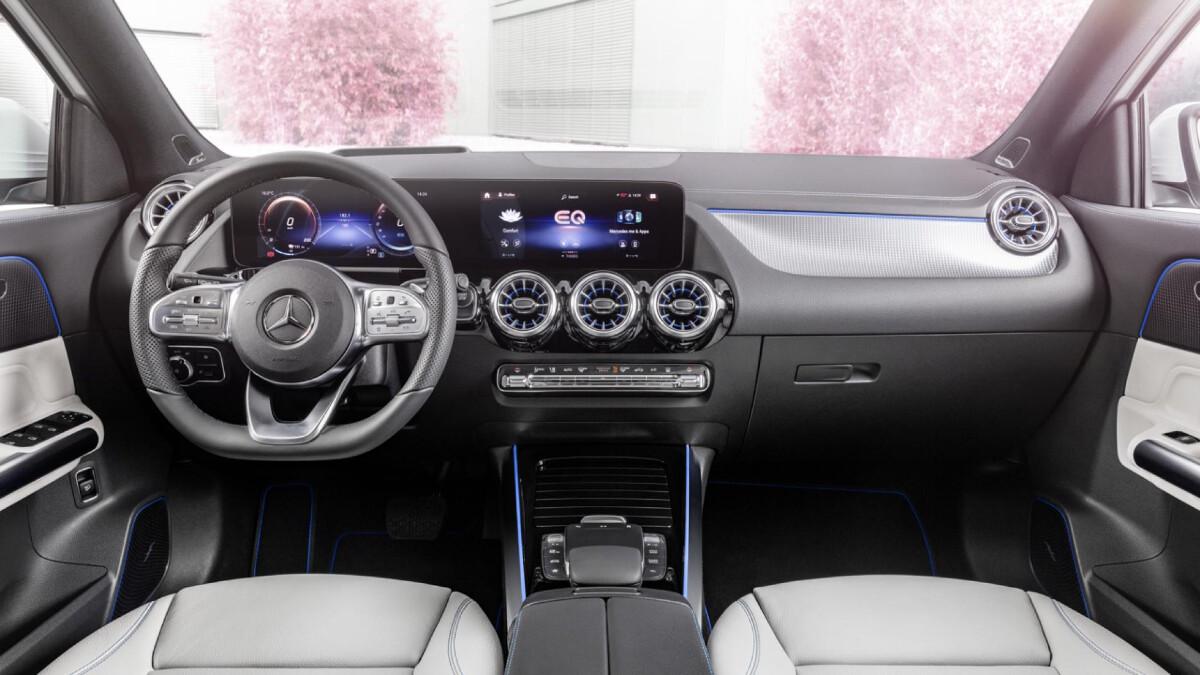 The Mercedes-Benz EQA - Interrior