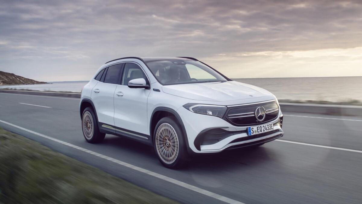 Mercedes-Benz's Entry-Level EV - The EQA