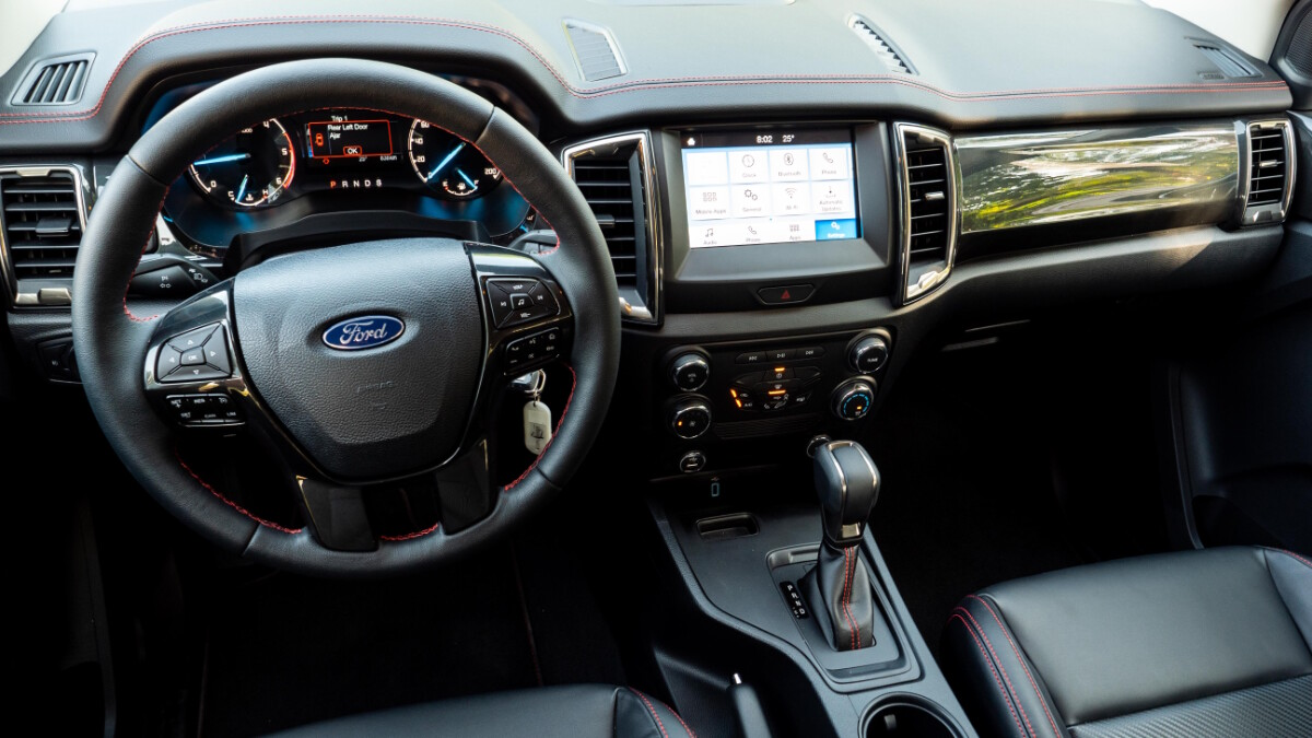 The 2020 Ford Ranger FX4 4x2 AT - Dashboard