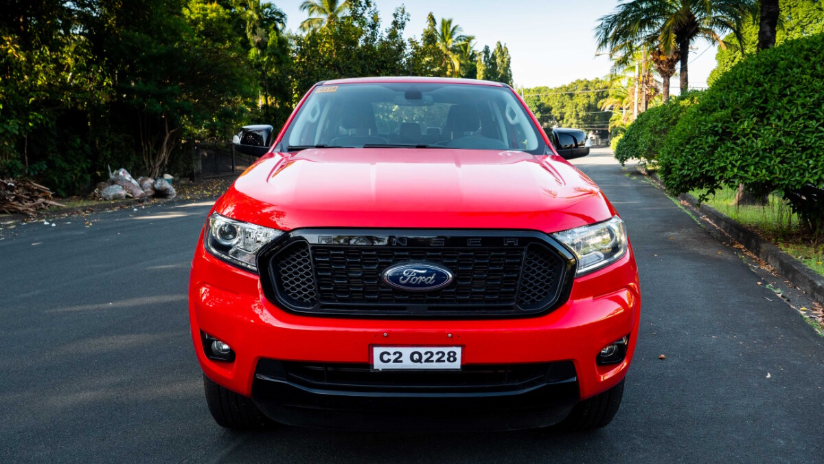 The 2020 Ford Ranger FX4 4x2 AT - Front View