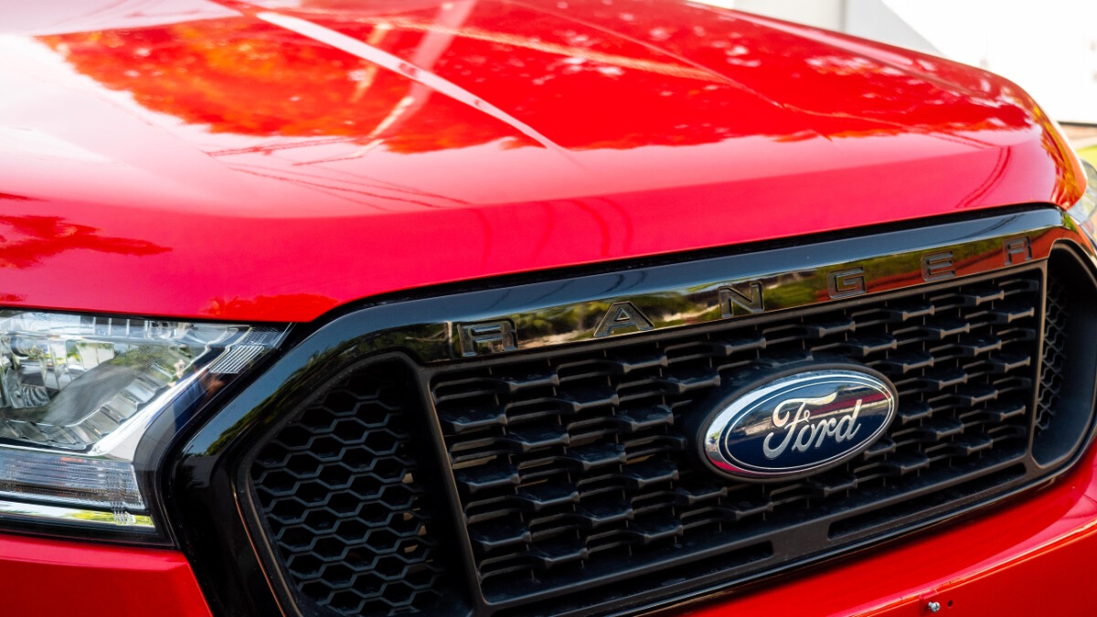The 2020 Ford Ranger FX4 4x2 AT - Front Detail