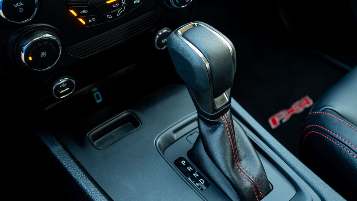 The 2020 Ford Ranger FX4 4x2 AT - Gear Stick