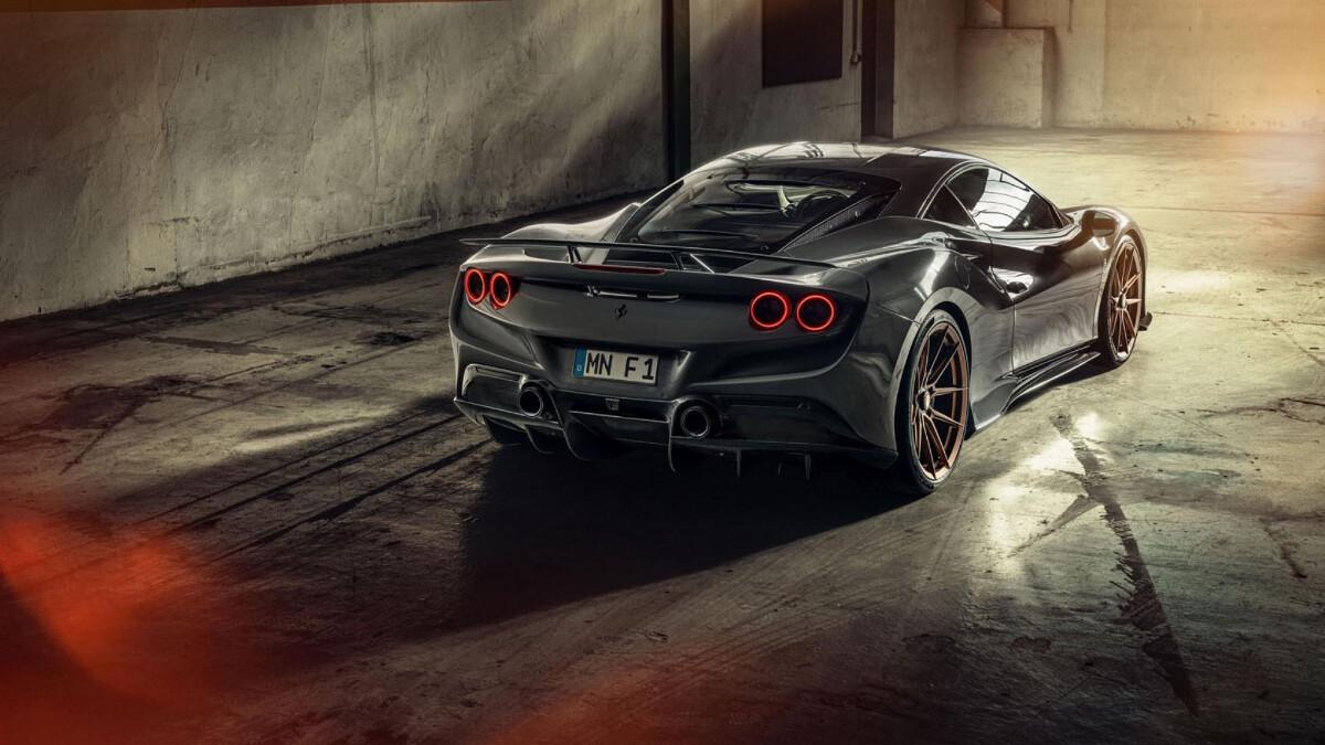 Ferrari F8 Tributo - Wide Angle