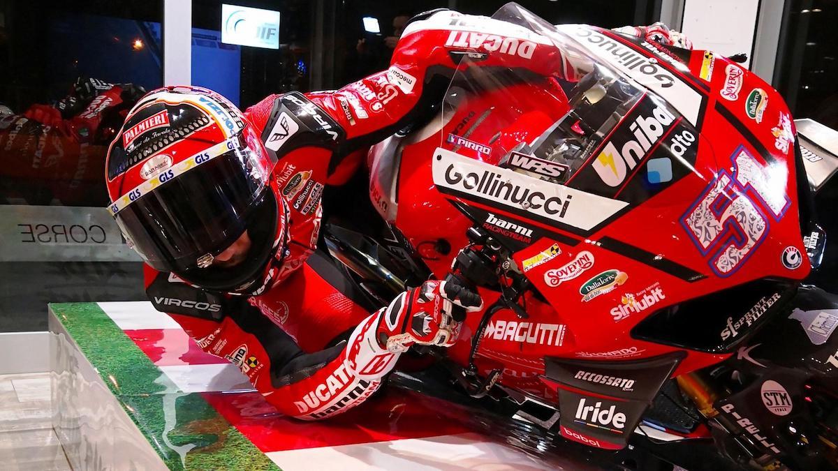 MotoGP Training Rig
