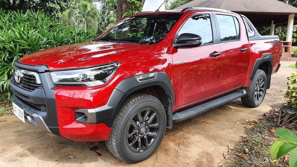 The Toyota Hilux Conquest - Front Angle