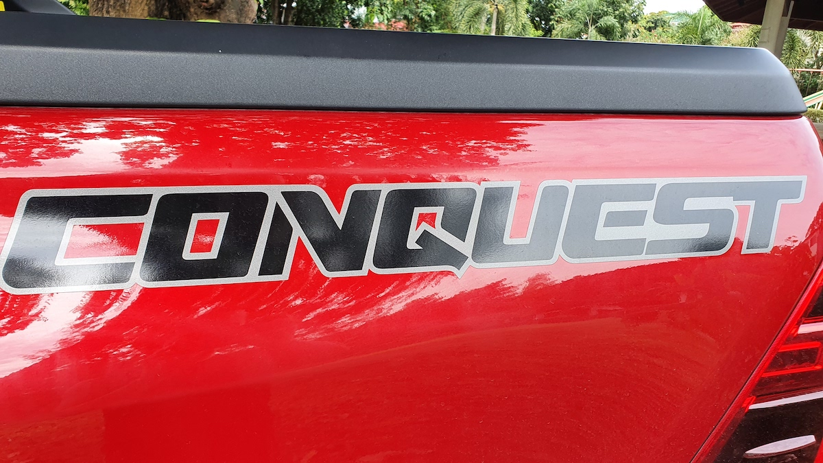 The Toyota Hilux Conquest - Conquest Decal