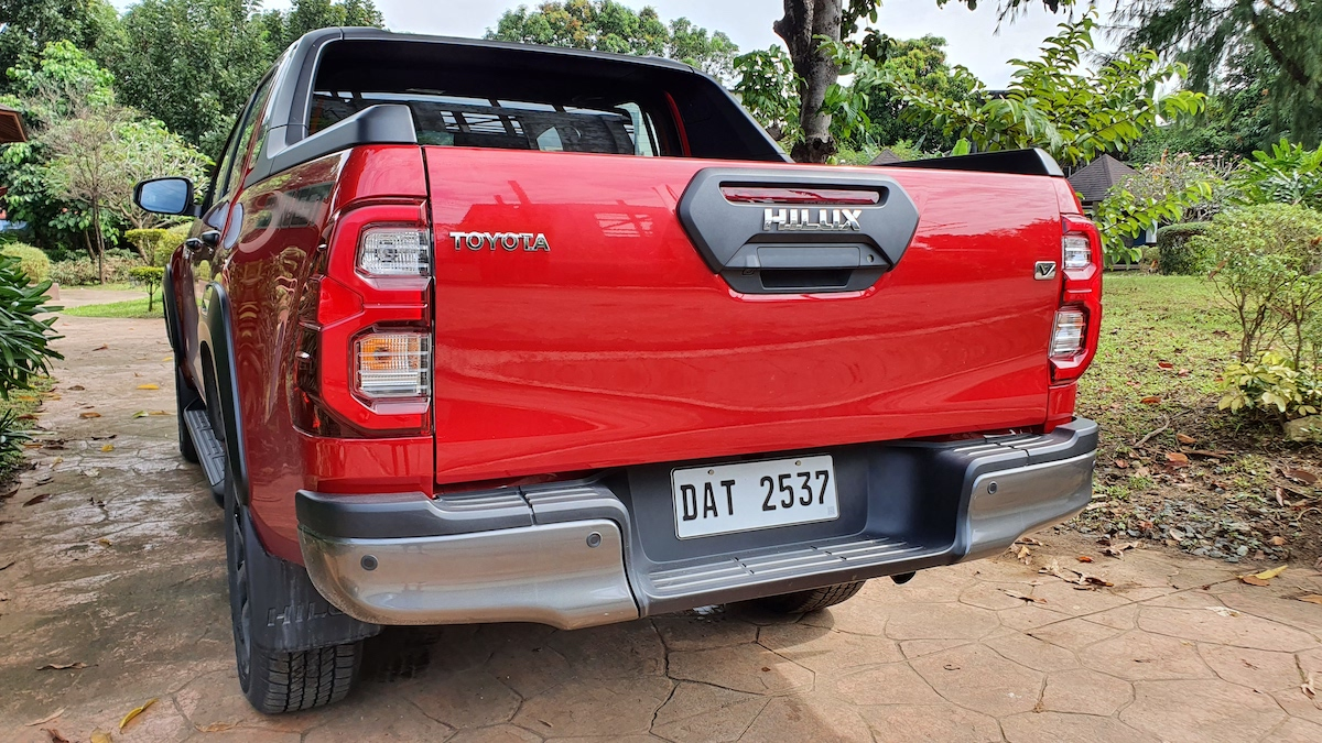 The Toyota Hilux Conquest - Rear Angle