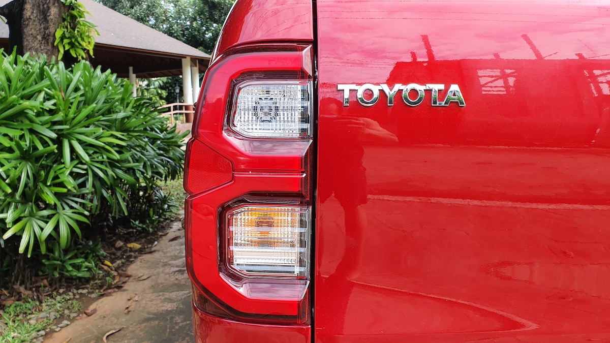 The Toyota Hilux Conquest - Tail Light Detail