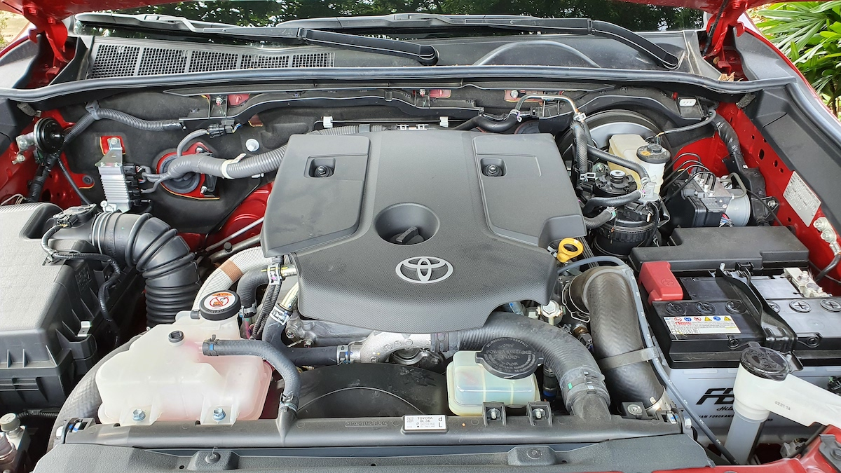The Toyota Hilux Conquest - Engine