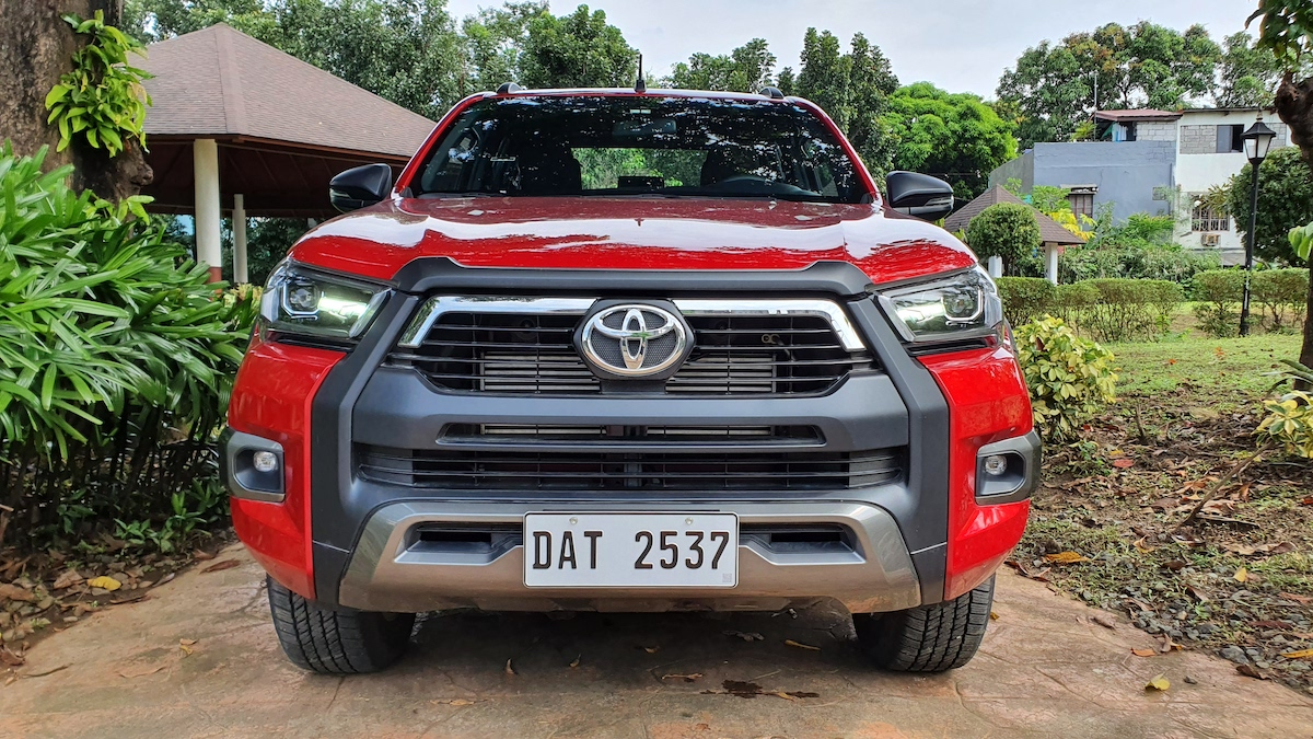 The Toyota Hilux Conquest - Front View