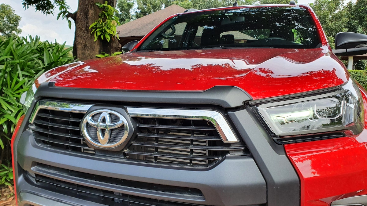 The Toyota Hilux Conquest - Front Close Up