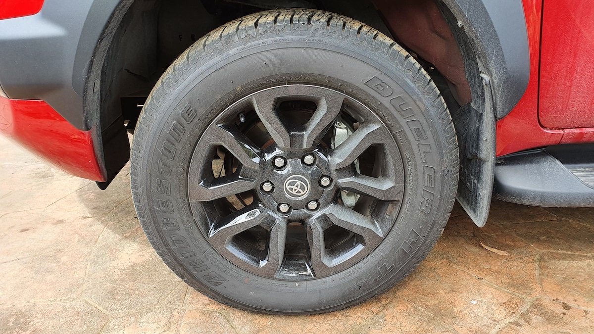 The Toyota Hilux Conquest - Tire Detail