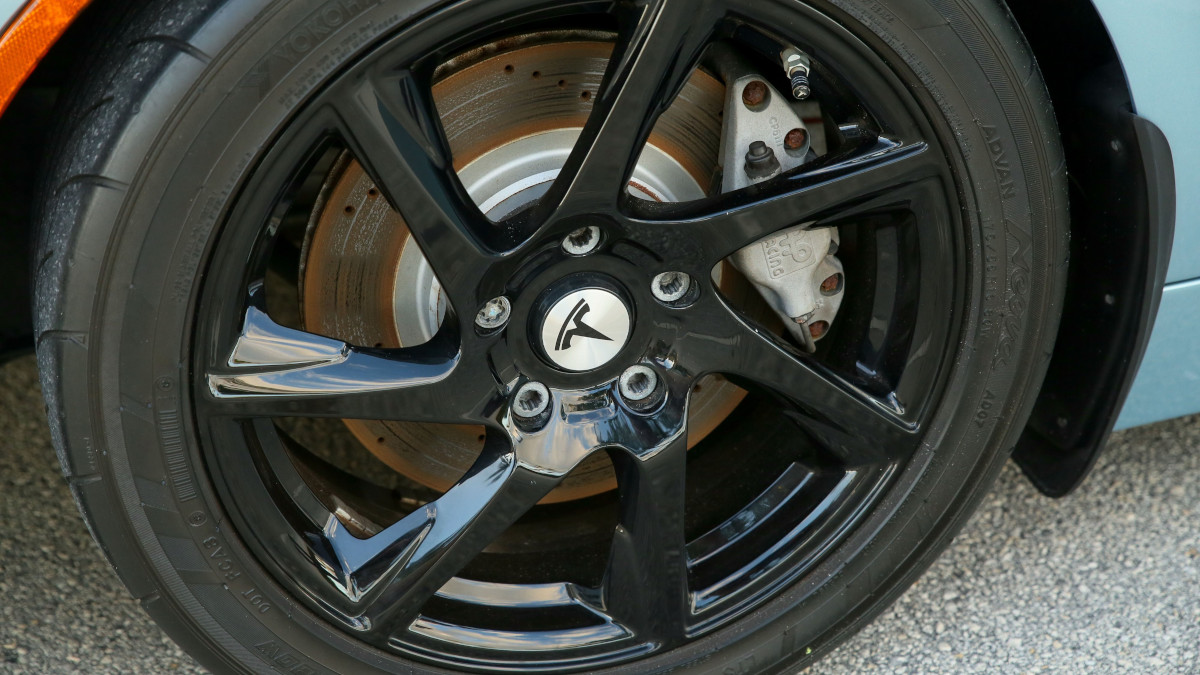 Tesla R80 Roadster - Wheel Detail