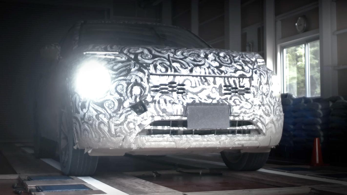 Mitsubishi Outlander - Front Angle