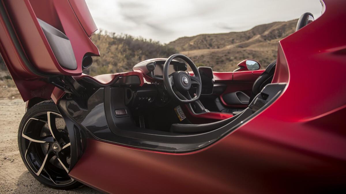 The McLaren Elva - Driver's Seat