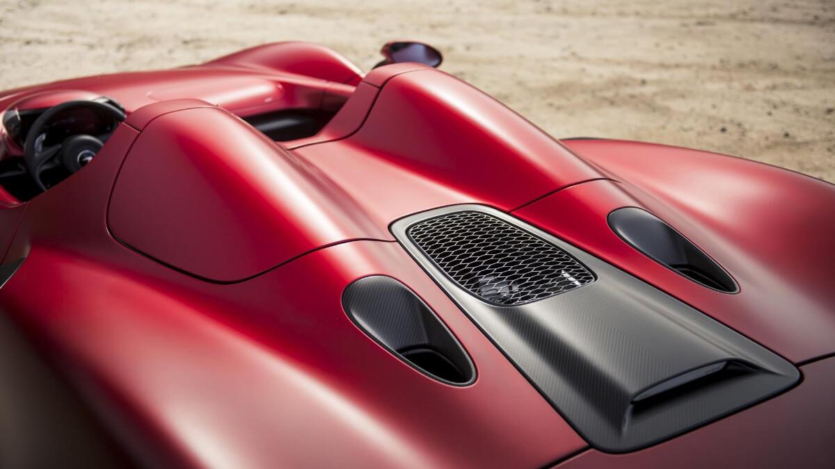 The McLaren Elva - Top Close Up