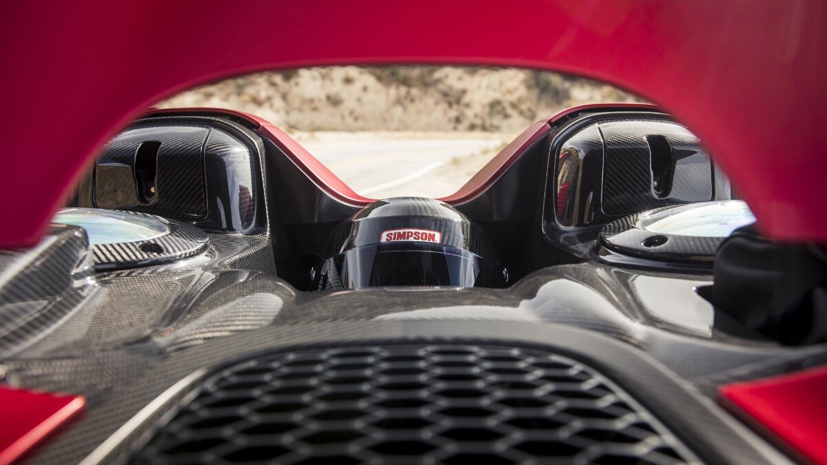 The McLaren Elva - Storage Alternative View