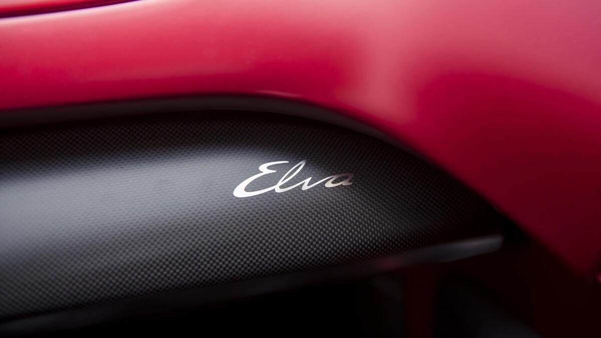 The McLaren Elva - Elva Emblem
