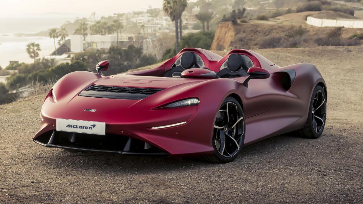 The McLaren Elva - Parked Front View