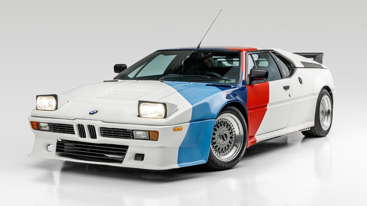 Paul Walker's BMW M1 - Front Angle