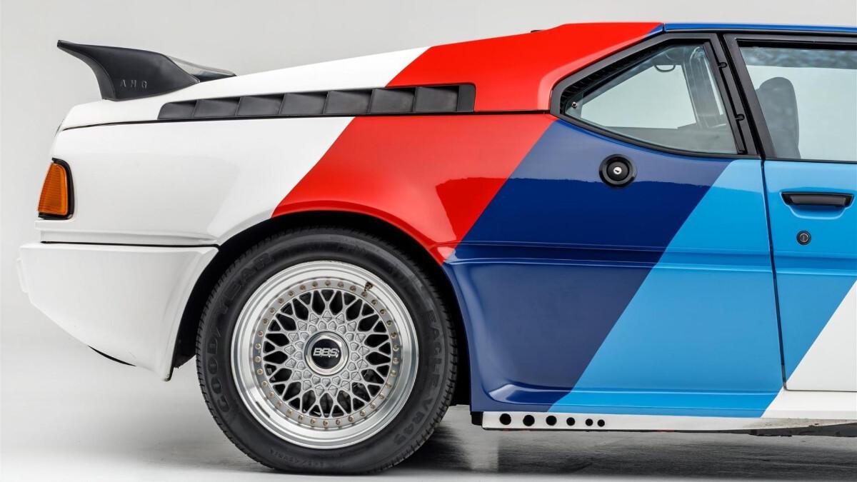 Paul Walker's BMW M1 - Rear Profile