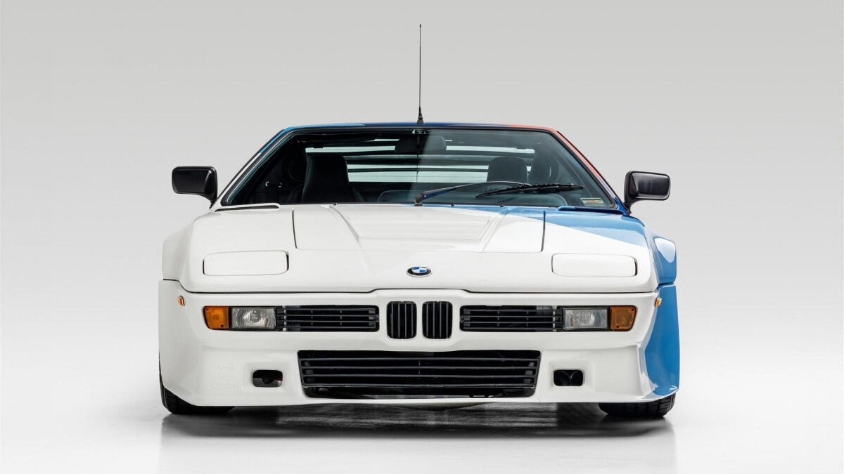 Paul Walker's BMW M1 - Front View