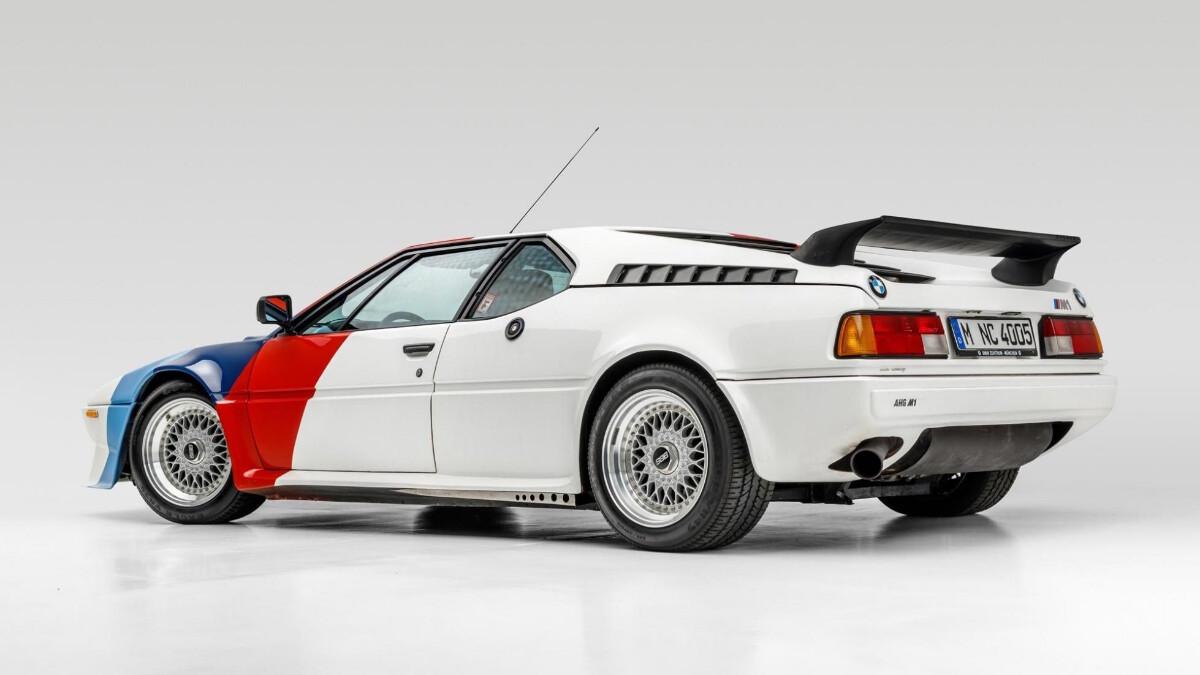 Paul Walker's BMW M1 - Rear Angle