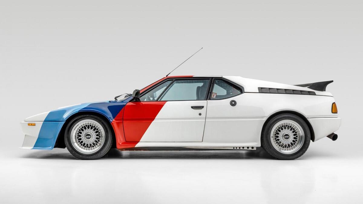 Paul Walker's BMW M1 - Full Profile