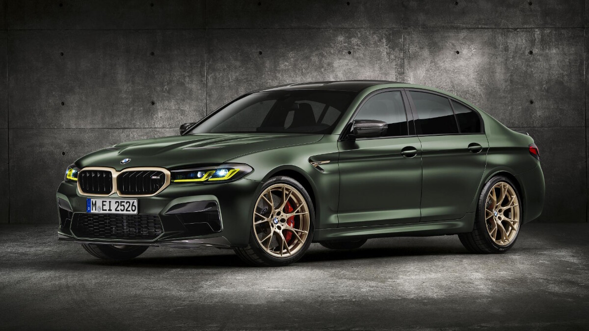 BMW M5 CS - Front Angled View