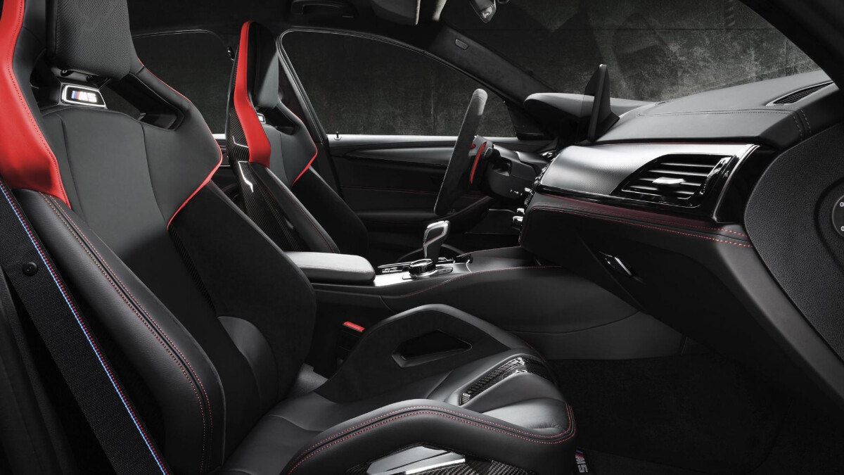 BMW M5 CS - Interior, passenger's seat and driver's seat