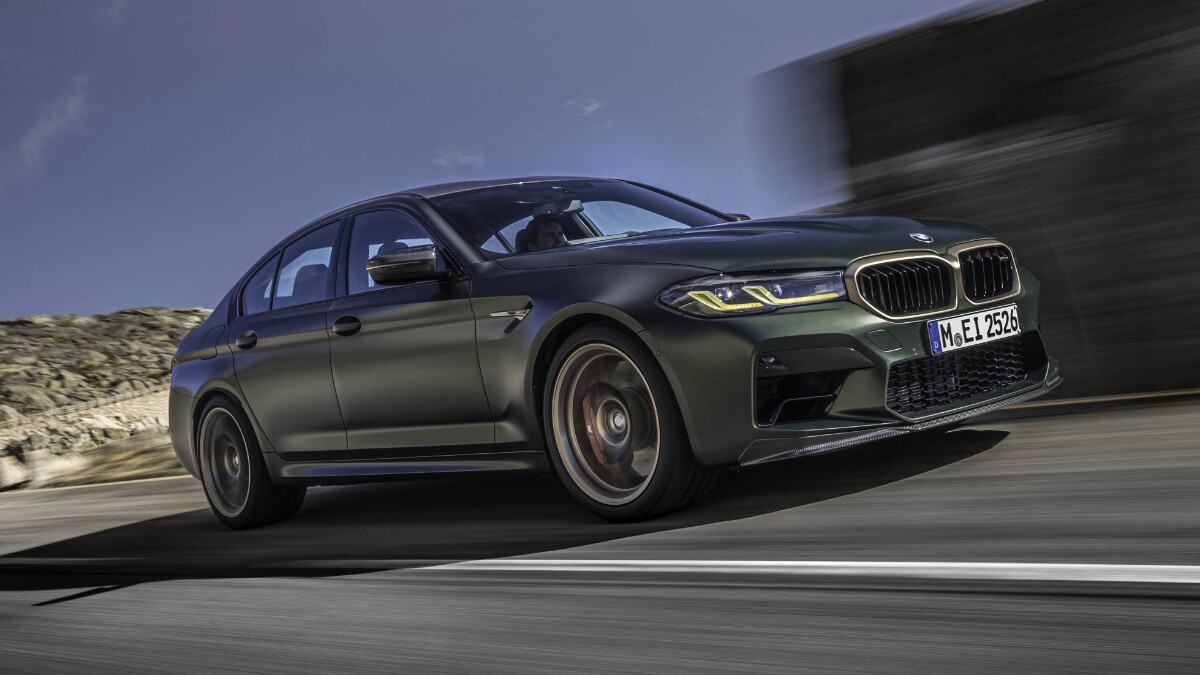 BMW M5 CS - Angled Front View