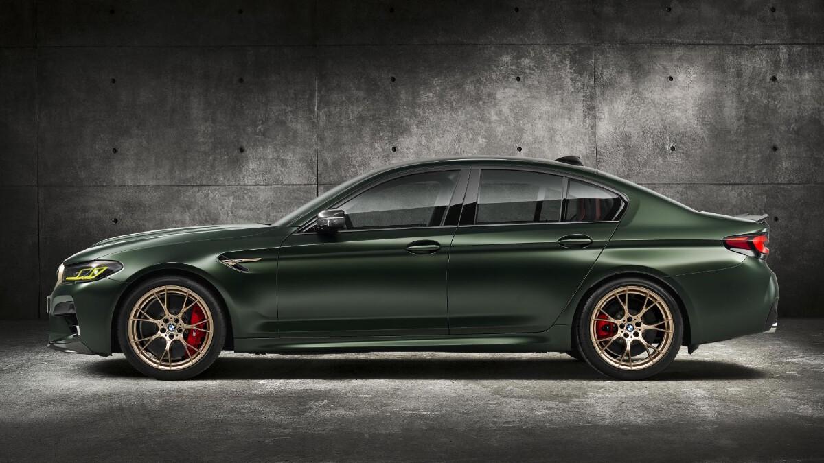 BMW M5 CS - Profile