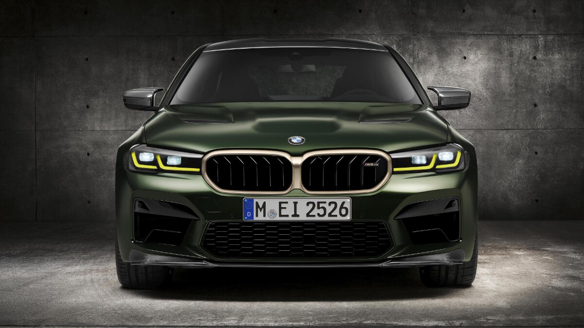 BMW M5 CS - Front View
