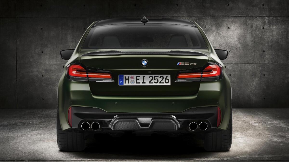 BMW M5 CS - Rear View