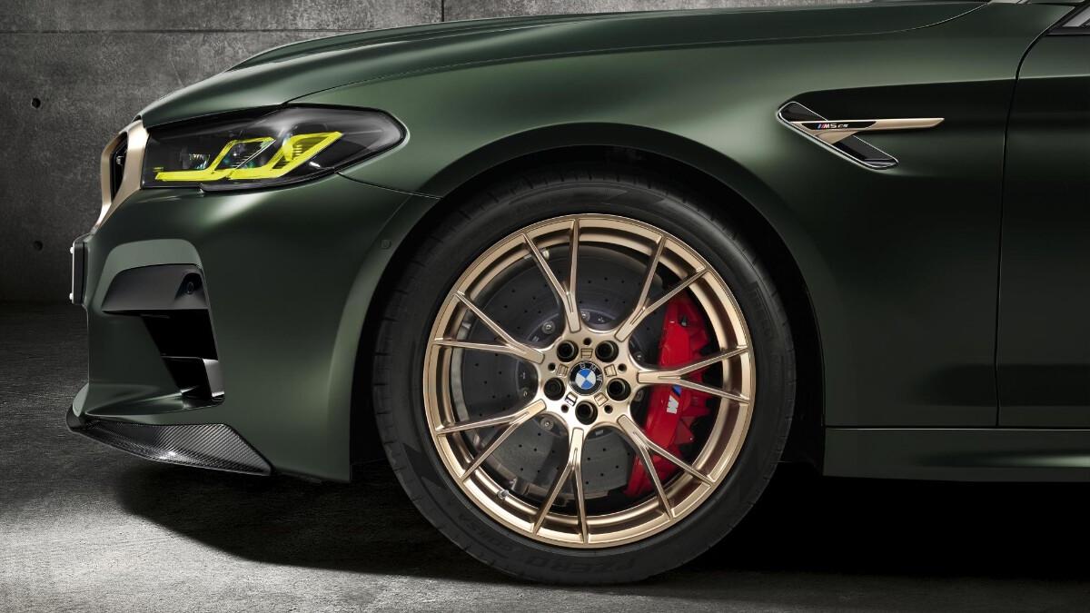 BMW M5 CS - Front Profile