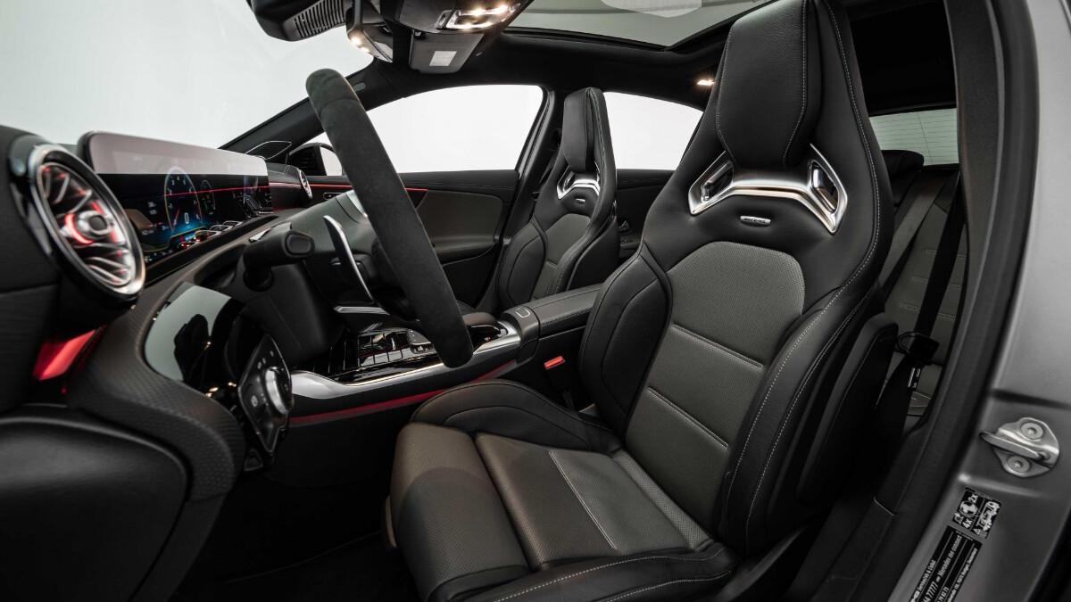 The Mercedes-Benz Brabus B45 - Passenger Seats Feature