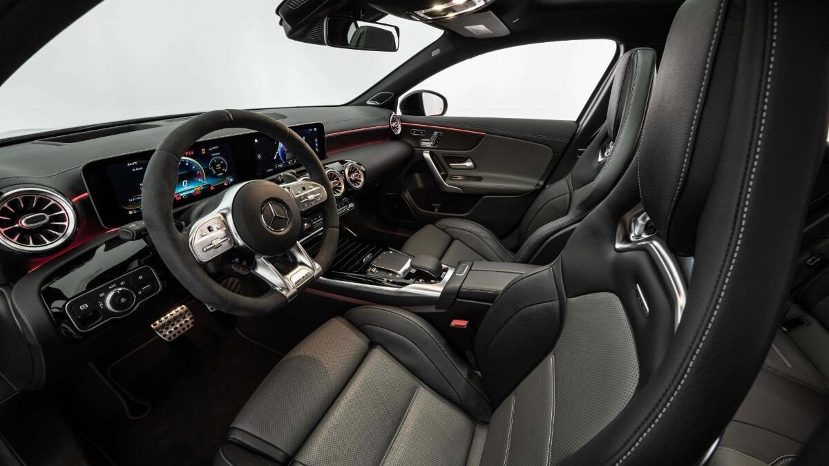 The Mercedes-Benz Brabus B45 - Interior