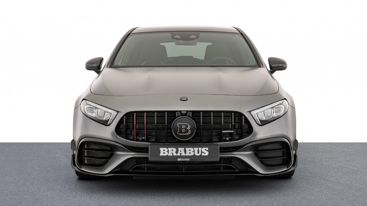 The Mercedes-Benz Brabus B45 - Front View