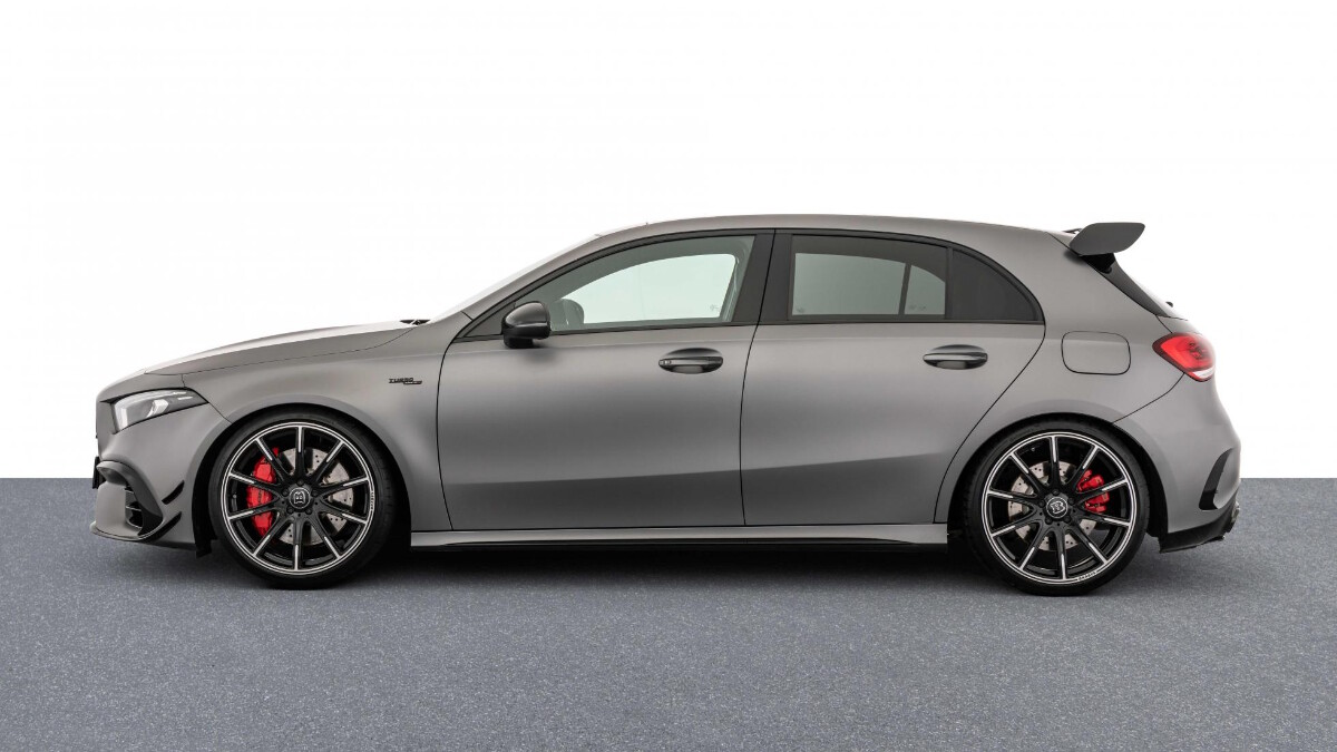 The Mercedes-Benz Brabus B45 - Profile