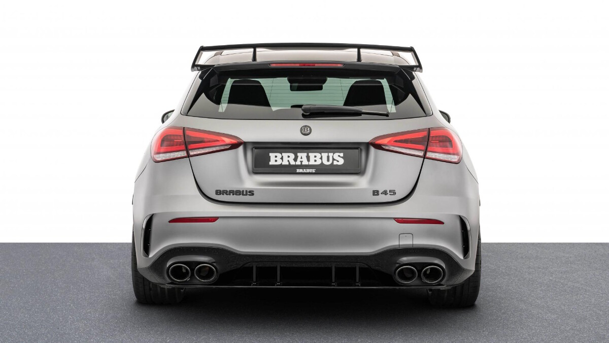 The Mercedes-Benz Brabus B45 - Rear View