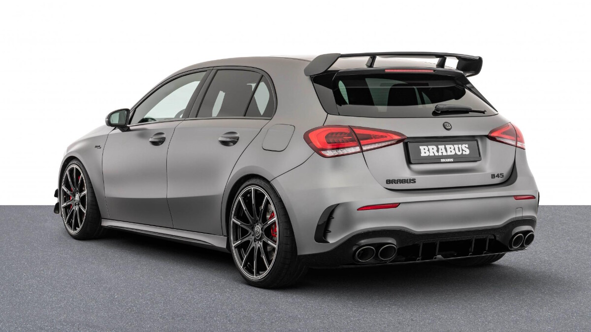 The Mercedes-Benz Brabus B45 - Rear Angle View
