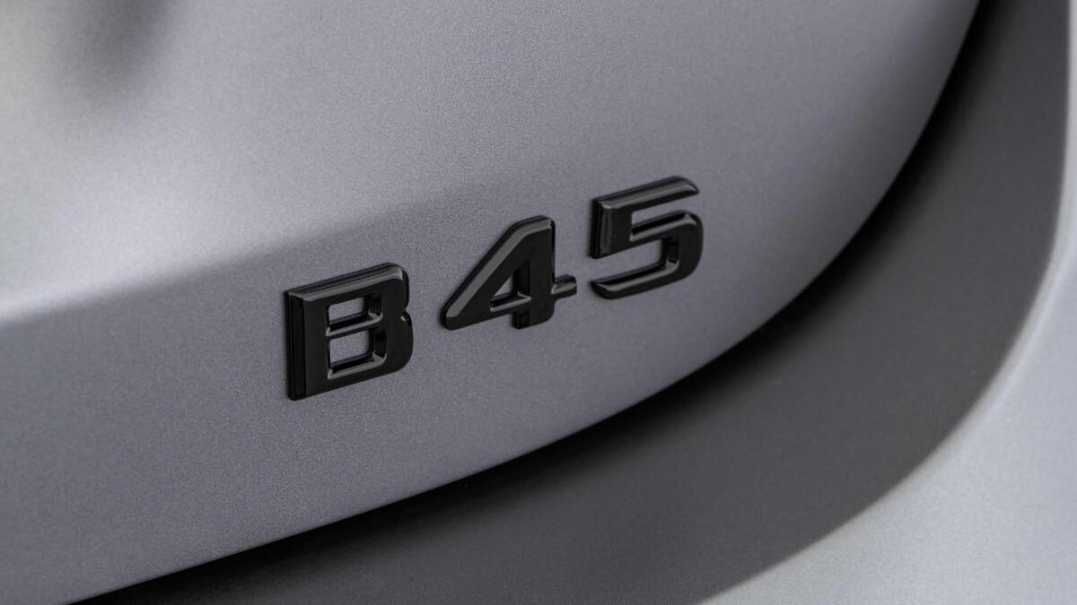 The Mercedes-Benz Brabus B45 - B45 Emblem