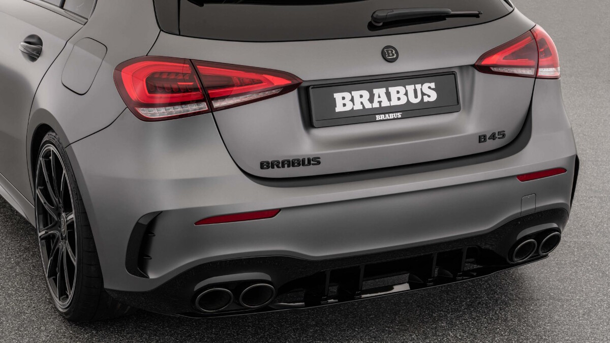 The Mercedes-Benz Brabus B45 - Rear View Close Up