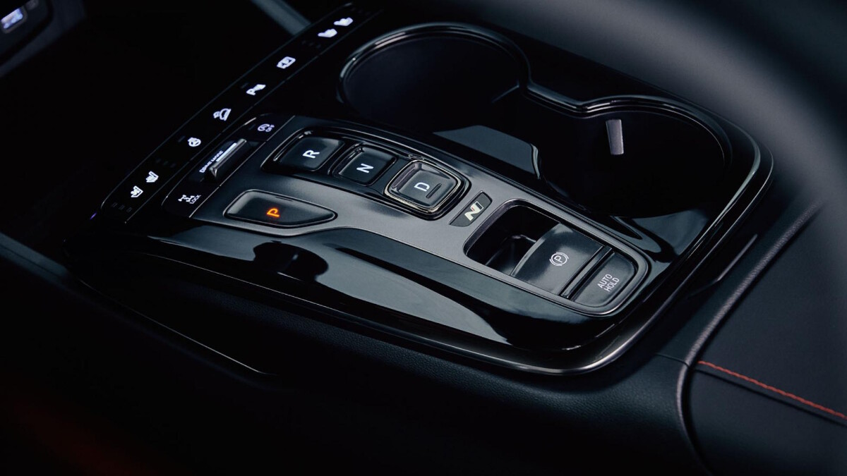 The Tucson N Line - Control Panel and Cup Holders