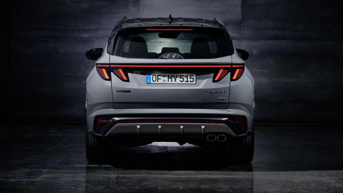 The Tucson N Line - Rear View