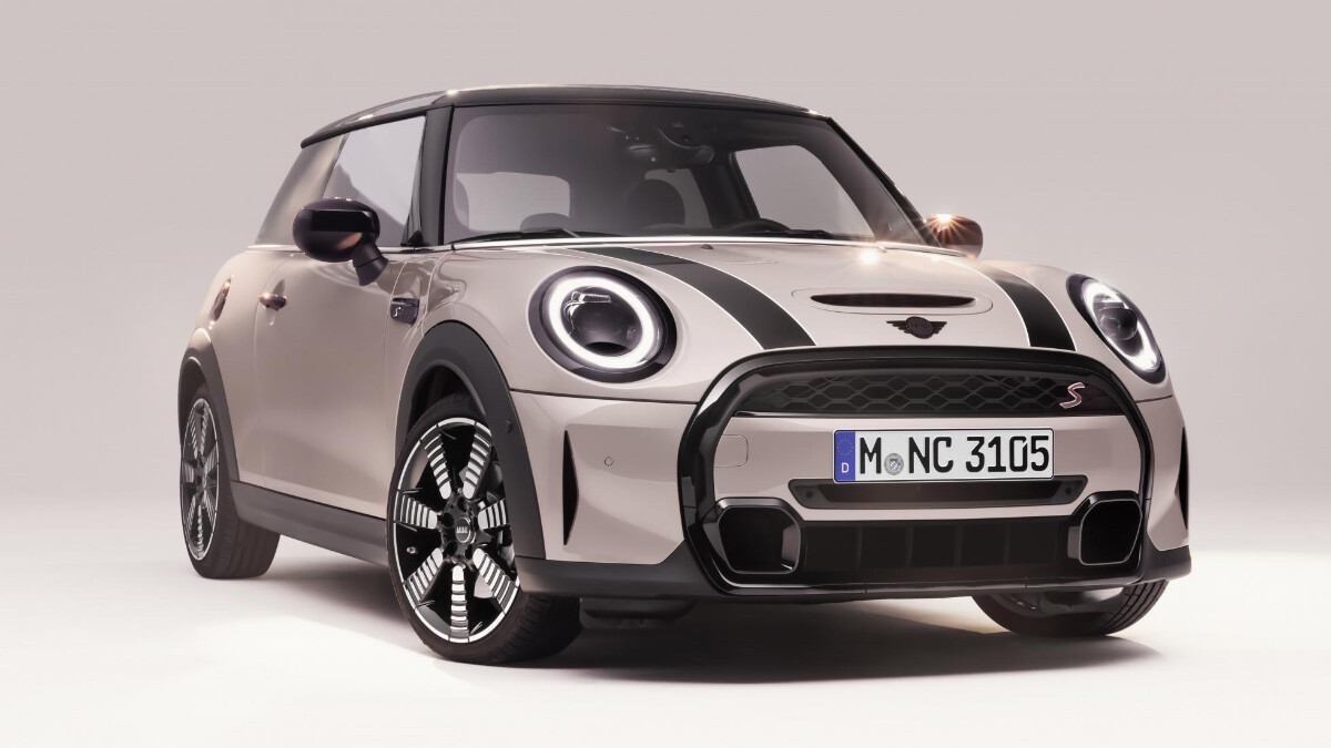 Mini Cooper - Front Angled View