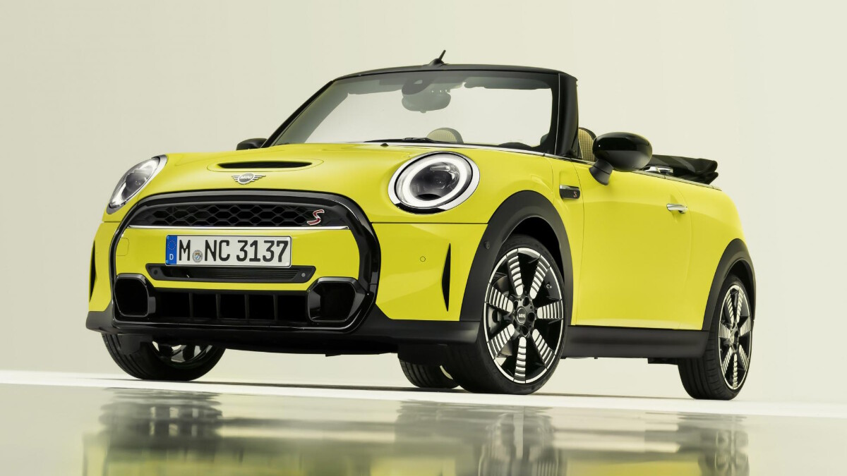 Mini Convertible - Front Angled View