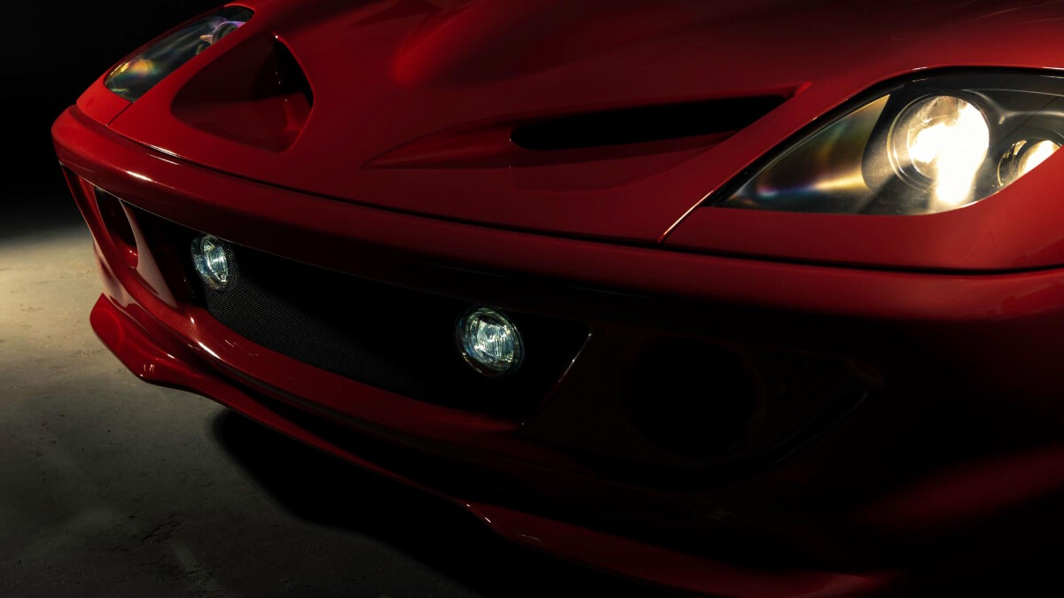 The Ferrari Breadvan Hommage - Front close up