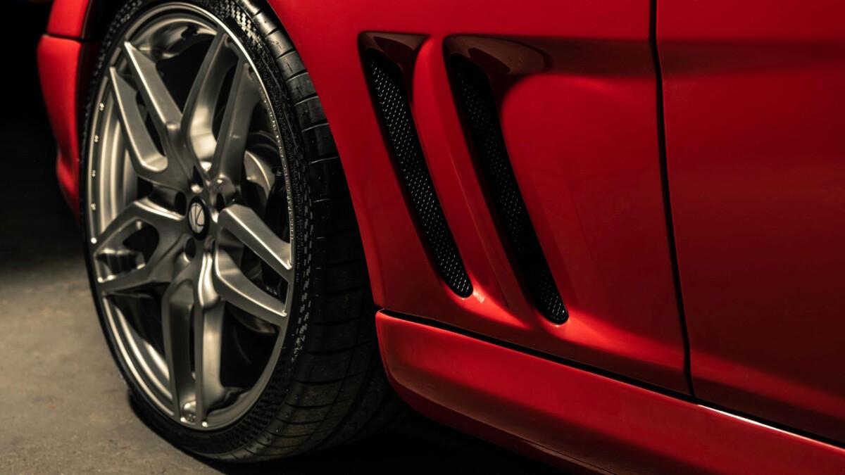 The Ferrari Breadvan Hommage - Wheel Detail